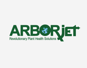 Logo for Arborjet Tree/Palm Injections used by Farrow Pest Services to maintain health palms and trees